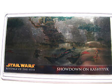 Star Wars Topps trading Widevision card chrome ROTS Sith  R4  chase     215