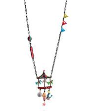 Lol Bijoux - Collier Fête Foraine - Manège - Glace - Chevaux Multicolores