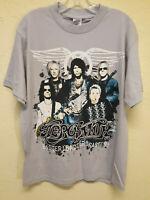 Aerosmith Cocked, Locked Ready to Rock Men's Concert T Shirt 2010 Size M