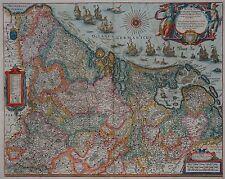 Benelux - XVII Provinzen - Novus XVII Inferioris Germaniae - Blaeu 1640