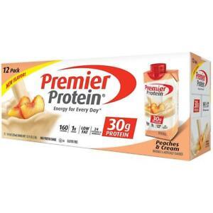 Premier Protein High Shake, Peaches & Cream (11 fl. oz., 12 pk.)