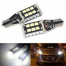 T15 168 955 921 W16W 15 SMD Lampadine Led Lato Reverse Tail Brake Light CANBUS GRATIS