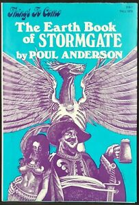 Things To Come Newsletter Fall 1978 The Earth Book Of Stormgate by Poul Anderson