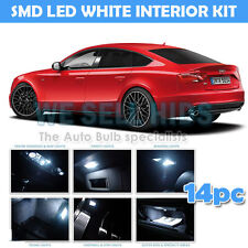14x AUDI A4 B8 A5 Xenon Blanco Interior LED Bombillas De Luz Interior Kit 8.5 rs4 rs5