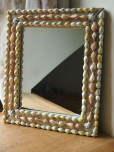 Handcrafted Shell Mirror