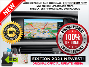 AUDI Q5, Q7, A8, MMI 3G UPDATE NEW 2021 + MAPs, MMI 3G HIGH (HDD), 8R0051884HF