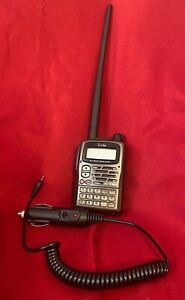 Icom IC-T90A Transceiver Ham Radio HT Handie Talkie With Mobile Charger