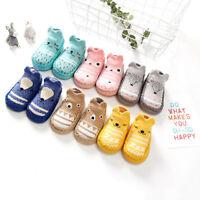 Baby Kids Toddler Girl Boy Shoes Unisex Anti-Slip Socks Shoes Slipper Soft Sock