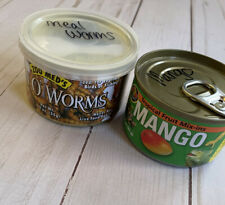 LotZoo Med Can O'Worms Mango Mix-ins Bearded Dragon Gecko Reptile Food