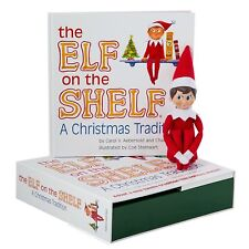 Elf on the Shelf: A Christmas Tradition (blue-eyed boy)  Rhymed children's book