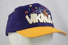 MINN VIKINGS NFL SNAP BACK KIDS JUNIOR SIZE CAP BY LOGO 7 ATHLETIC NEW W/TAG
