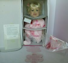 NEW AND NRFB MARIE OSMOND BABIES A BLOOM HAPPY BIRTHDAY VINYL DOLL COA #5771