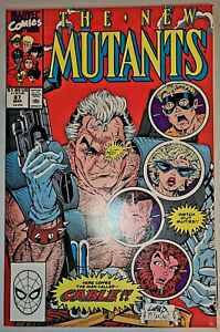New Mutants #87 NM/MINT 9.8 1st Cable appearance.