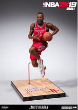 MCFARLANE NBA 2K9 HOUSTON ROCKETS JAMES HARDEN FIGURE FREE SHIPPING
