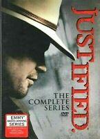 JUSTIFIED The Complete Series, Box Set NEW w/Bonus Disc    **U.S. SELLER**