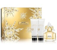 Marc Jacobs Daisy Gift Set 1.7 oz EDT + 2.5 oz+Body Lotion+2.5 oz Shower Gel