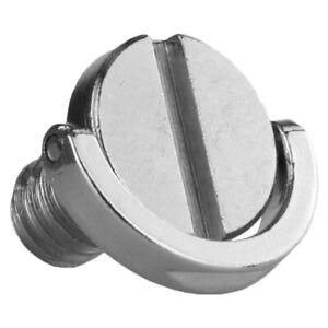 "1/4"" D-Ring UNC Captive Screw For Camera Tripod Monopod Quick Plate M7G1 R7I1"