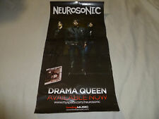 Neurosonic Band Signed Autographed Drama Queen Concert Poster Bodog Music Auto >