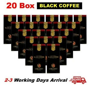 20 Box Organo Gold Black Coffee Exp2023 Ganoderma Lucidum FREE DELIVERY