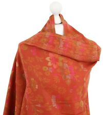 Soft Indian Pashmina Embroidered Shawl Kani Ladies Winter Shawls Wrap Stole UK