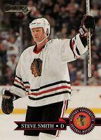 1995-96 Donruss Steve Smith #179 Chicago Blackhawks