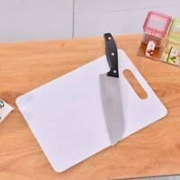 1pc Kitchen Plastic Chopping Block Mat Vegetable Fruit Cutting Board Non-slip