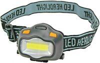 3W LED COB Headlamp Headlight Lamp Light Torch Flashlight 3 Mode AAA