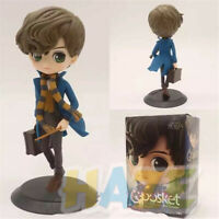Harry Potter Newt Malfoy Snape Hermione Q Ver. PVC Figure Toys Big Eye Dolls