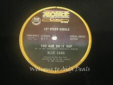 Extended maxi, You can do it Rap, Blue cabs, single LP (VG) 12""