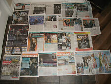 CELINE DION, MIX MONTREAL FRENH CLIPPINGS  *JULY & AUG. 2013 CLIPPINGS*