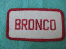 """Vintage Ford Bronco Uniform Patch 3 1/2"""" X 2"""""""