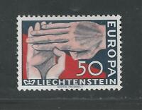 LIECHTENSTEIN # 370 MNH EUROPA 1962