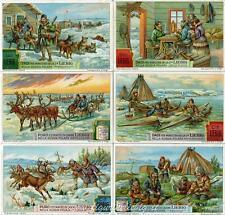 Chromo Liebig Sang. 1218 ITA Nella Russia Polare ANNO 1928
