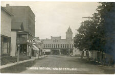 RPPC NY Vanetten Business Section Livery Chemung County