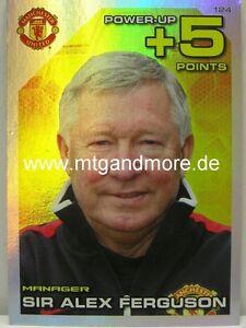 Adrenalyn XL Manchester United 11/12 - #124 Sir Alex Ferguson - Power Up