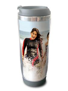 Personalised Photo Thermal Mug Flask Cup Custom Coffee Tea Travel Cup Gift Idea