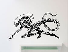 Alien Wall Decal Xenomorph Superhero Vinyl Sticker Comics Art Decor Mural 325su
