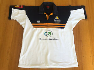 Vintage 2001 ACT Brumbies Super 12 Champions Jersey Shirt Large VGC VERY RARE