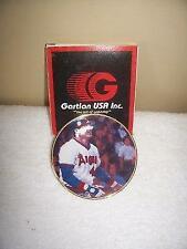 Reggie Jackson California Angels Gartlan Miniature 3 Inch Collector Plate