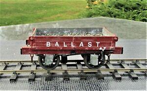 7mm Finescale LBSCR/SR Dia.37 4t Dumb Buffered Ballast Wagon