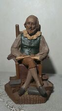 TOM CLARK - Shakespeare - 1984 Great People in History - HAND SIGNED - #63