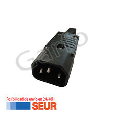 Conector Adaptador Transformador IEC C14 Chasis Macho 3 Pines 10A 250V