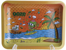 OOZE Fun Rolling Tray, Tobacco Smoking Accessories-HIGH TIDE-Medium(10