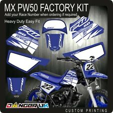 YAMAHA PW50 MOTOCROSS MX GRAPHICS DECALS