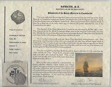 8 REALES NV DATE SILVER RECOVERED SHIPWRECKED THE SANTA MARIA DE LA CONSOLACION