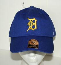 47 Brand Detroit Tigers Baseball American League Cap Hat New OSFA Rare Blue
