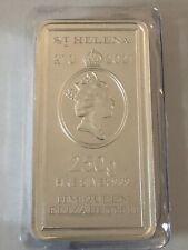 Silberbarren 250 Gramm St. Helena Münzbarren 2021 Feinsilber 999,9