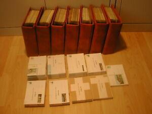 Bund - Bildpostkartensammlung 1976-1994 * fast komplett in 7 Safe Compact Alben