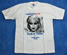 MADONNA PROMO T-SHIRT SECRET BEDTIME STORIES CD LP K7 WARNER BRAZIL RARE 1994