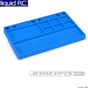 JConcepts 2550-1 Parts Tray Rubber Material Blue